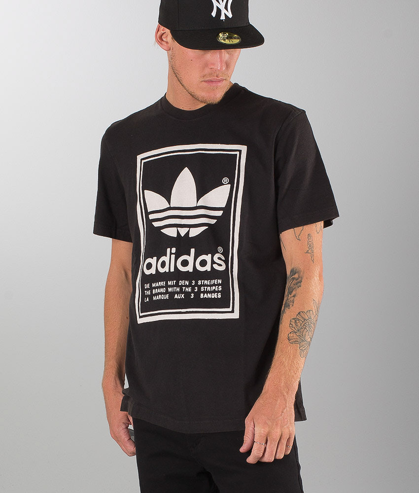 e58fd3f6cc7 Adidas Originals Japan Archive T-shirt Black - Ridestore.com