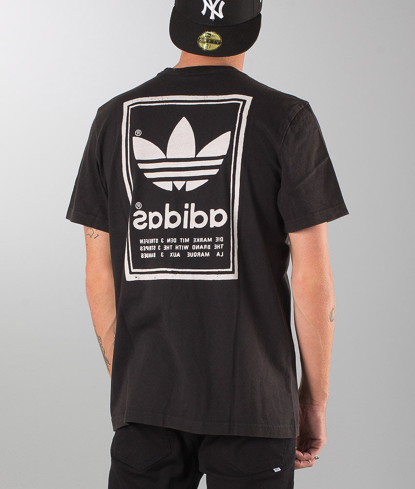 3f6f4beb7cc60 Adidas Originals Japan Archive T-shirt Black - Ridestore.com