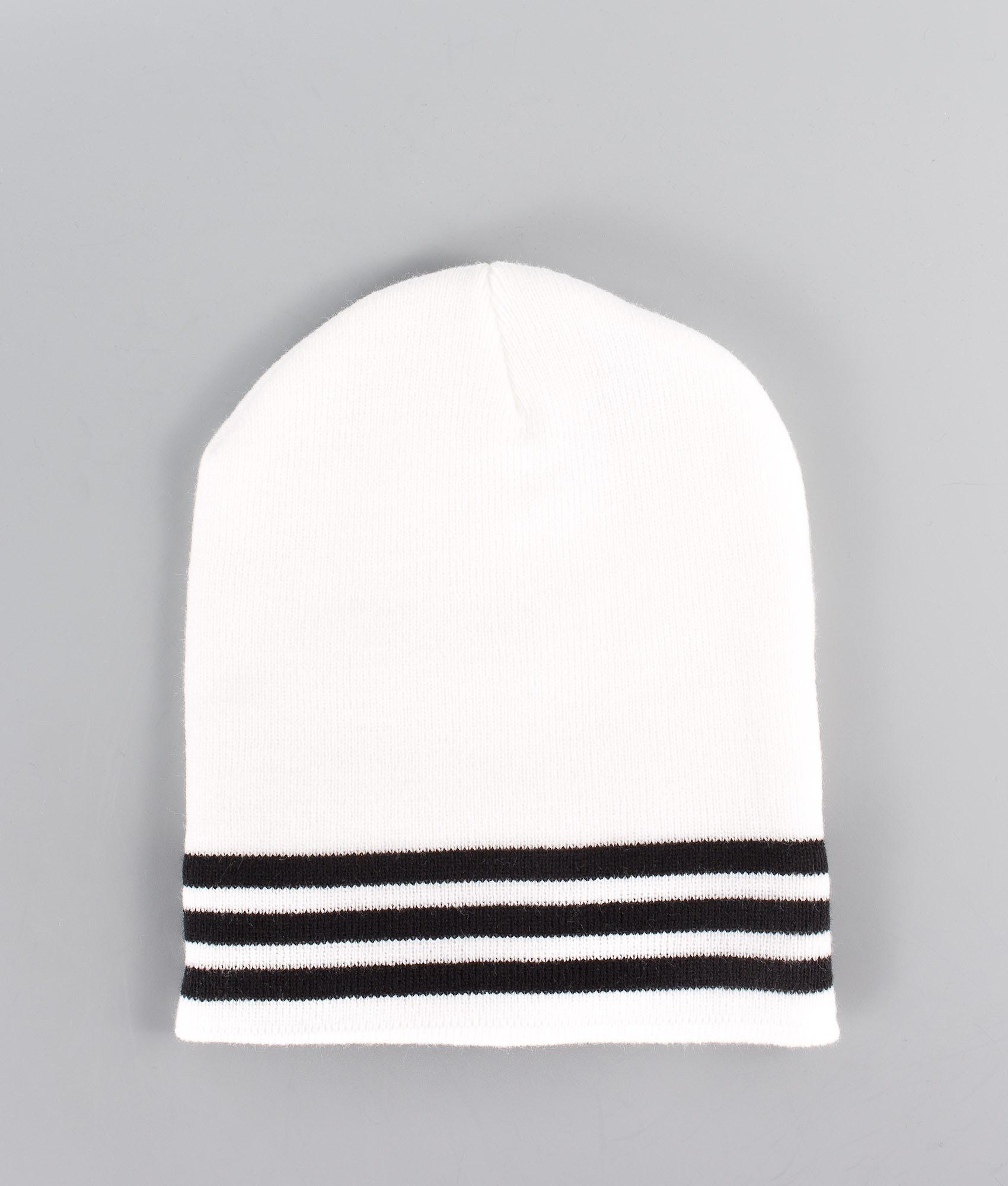 e0884790 Adidas Originals Logo Beanie White/Black - Ridestore.com