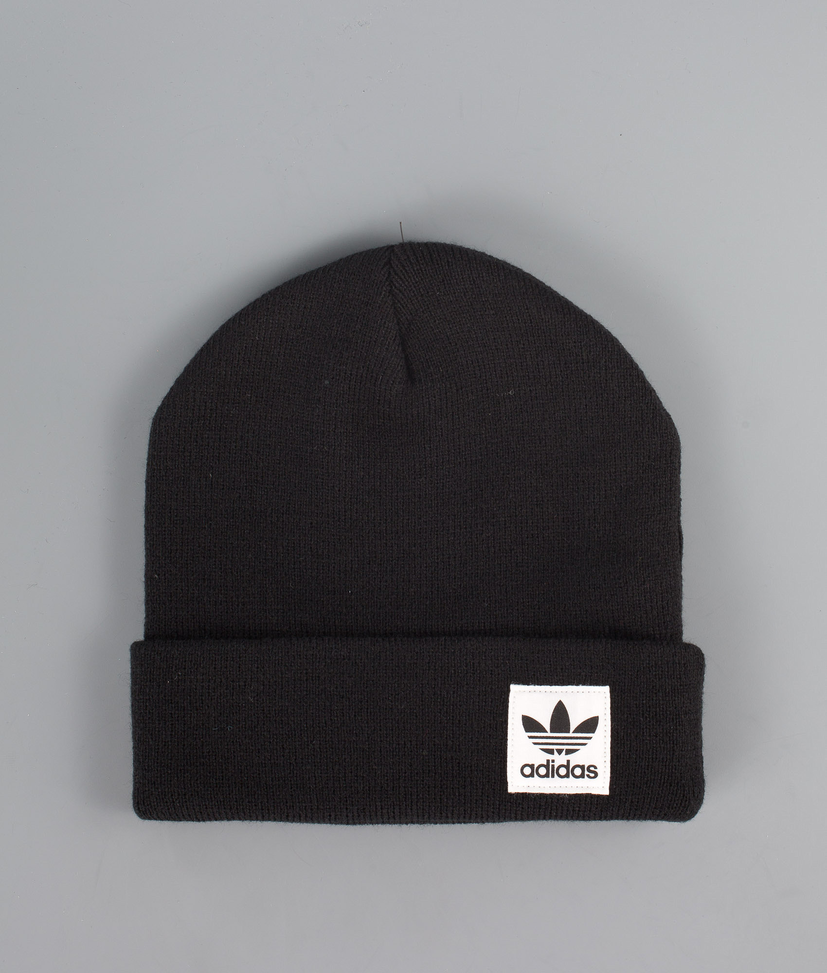 Adidas Originals High Beanie Black - Ridestore.com 6b3ab894601c