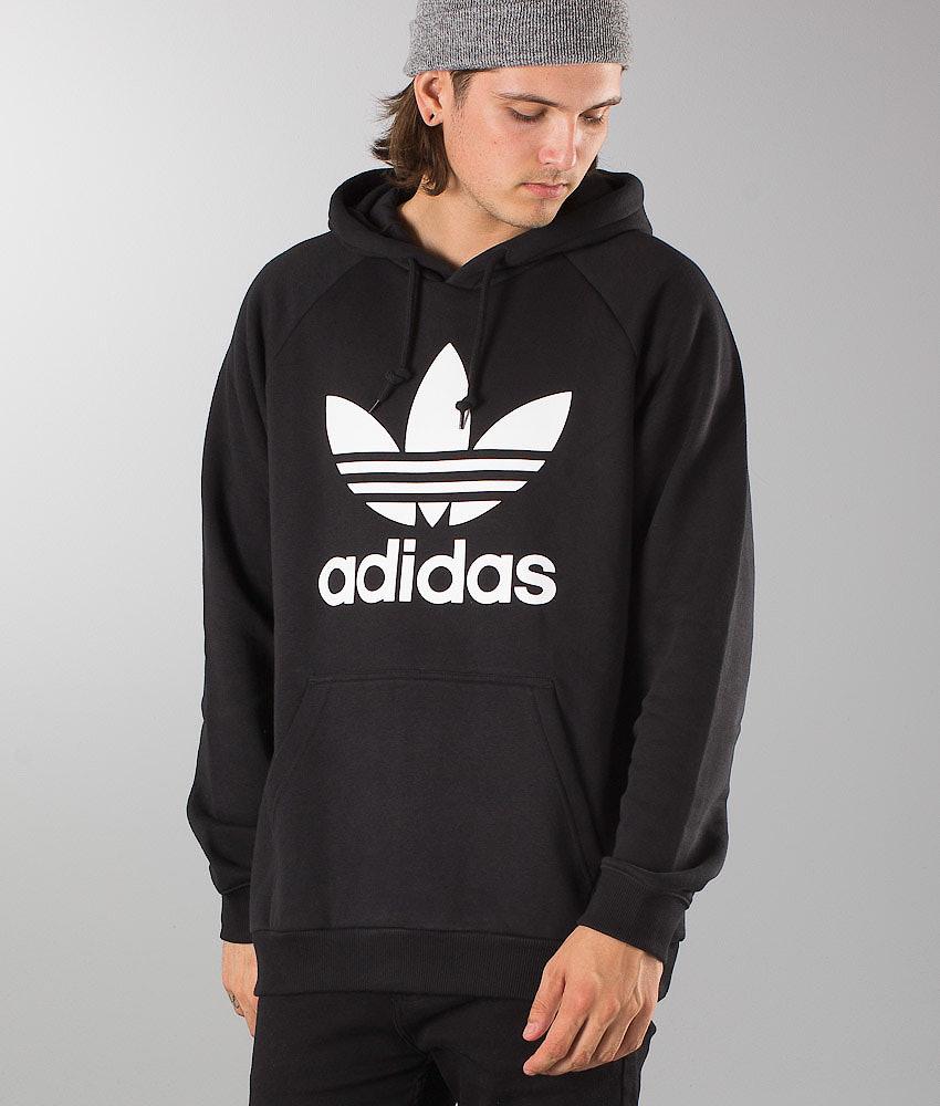 Adidas Originals Trefoil Huppari Black - Ridestore.fi 4342d17de1