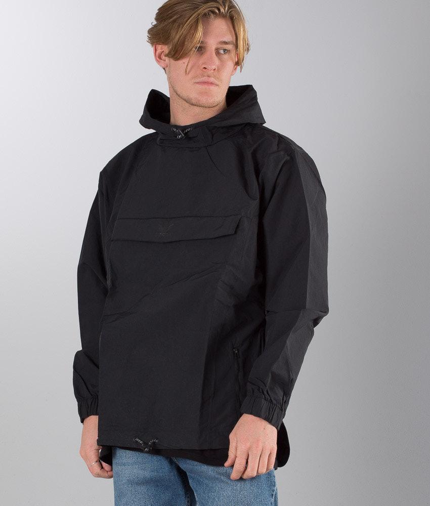 94d40328cf4b8 Adidas Originals Taped Anorak Jacket Black - Ridestore.com