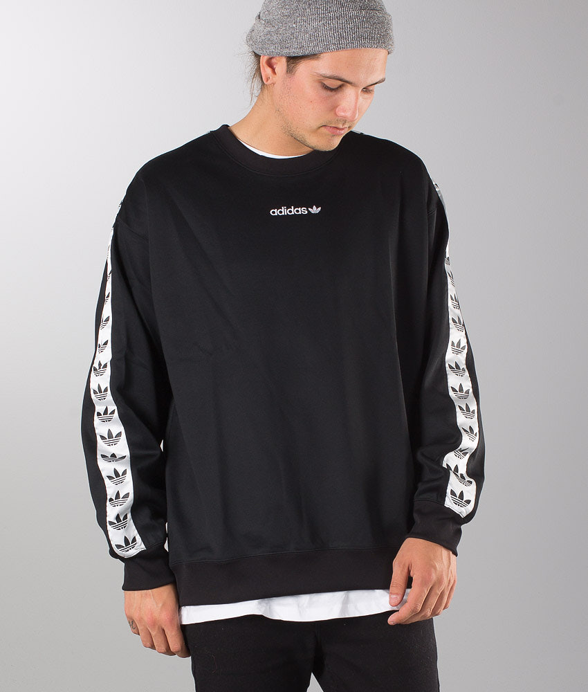 dal costo ragionevole imbattuto x Più votati Adidas Tnt Black And White Taped Crewneck Sweatshirt - Ficts