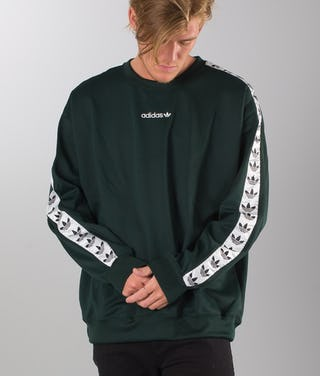 later save off biggest discount Adidas Originals Tnt Tape Sweater Grnnit/White