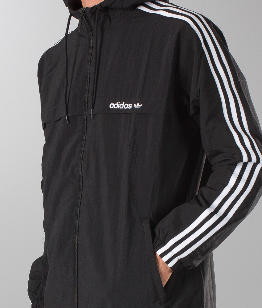 Adidas Originals 3striped Wb Jacket Black Ridestore Com