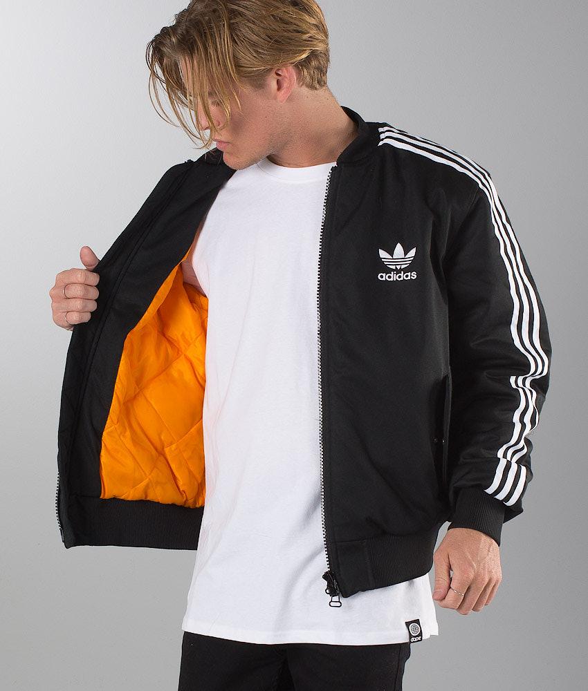6167612636d3 Adidas Originals Ma1 Padded Mate Jacket Black - Ridestore.com
