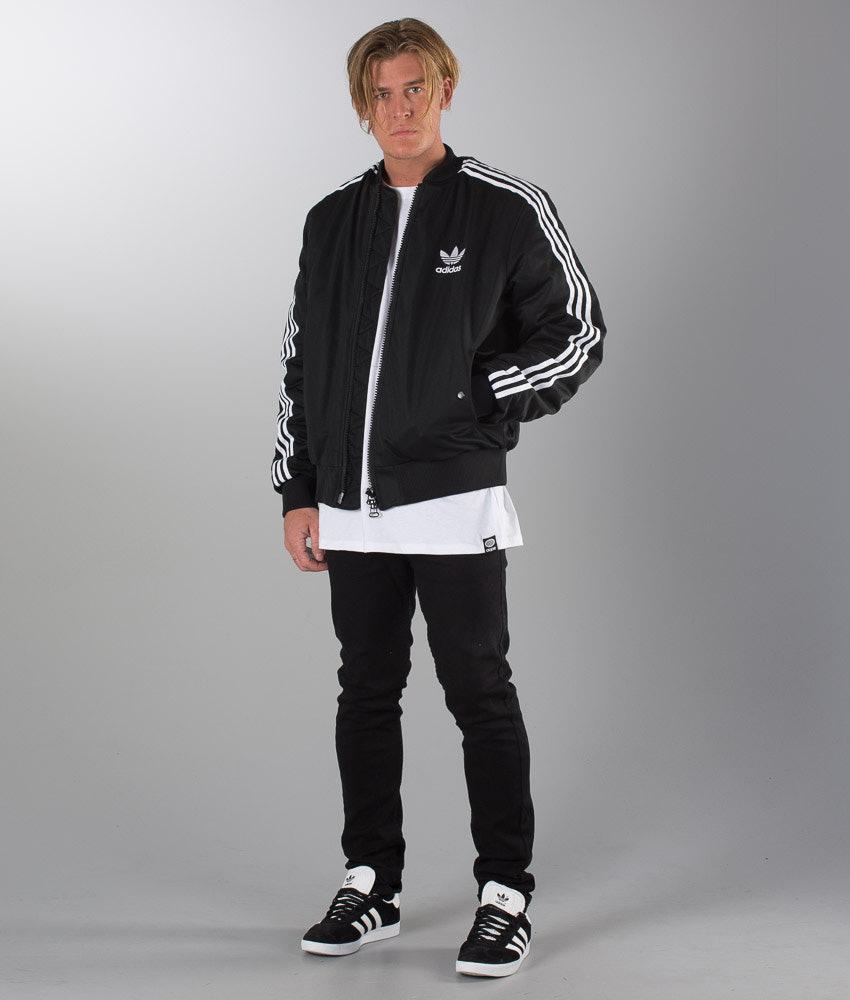 8df2af874c86 Adidas Originals Ma1 Padded Mate Jacket Black - Ridestore.com