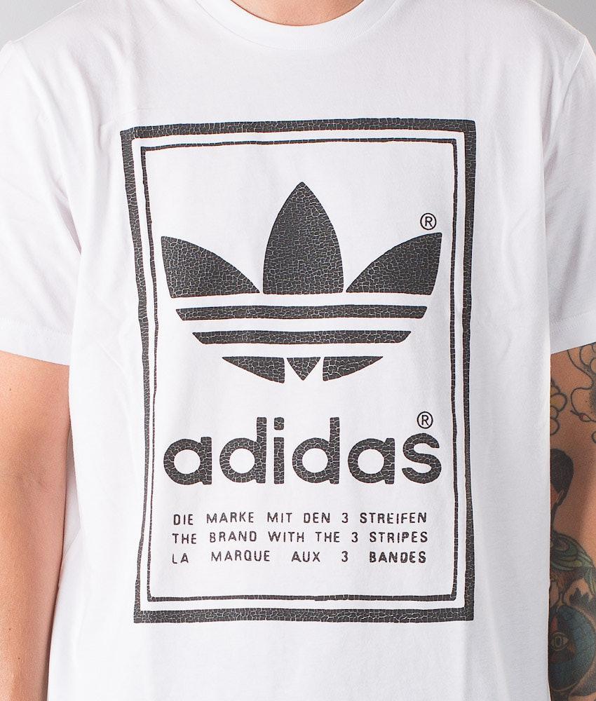 save off d9409 37669 Adidas Originals Japan Archive T-shirt White