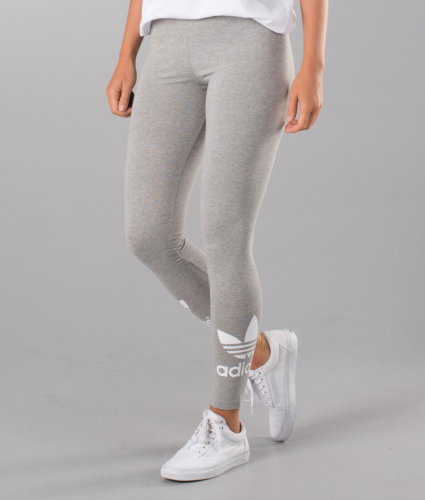 Adidas Originals Trefoil Leggings Mgreyh