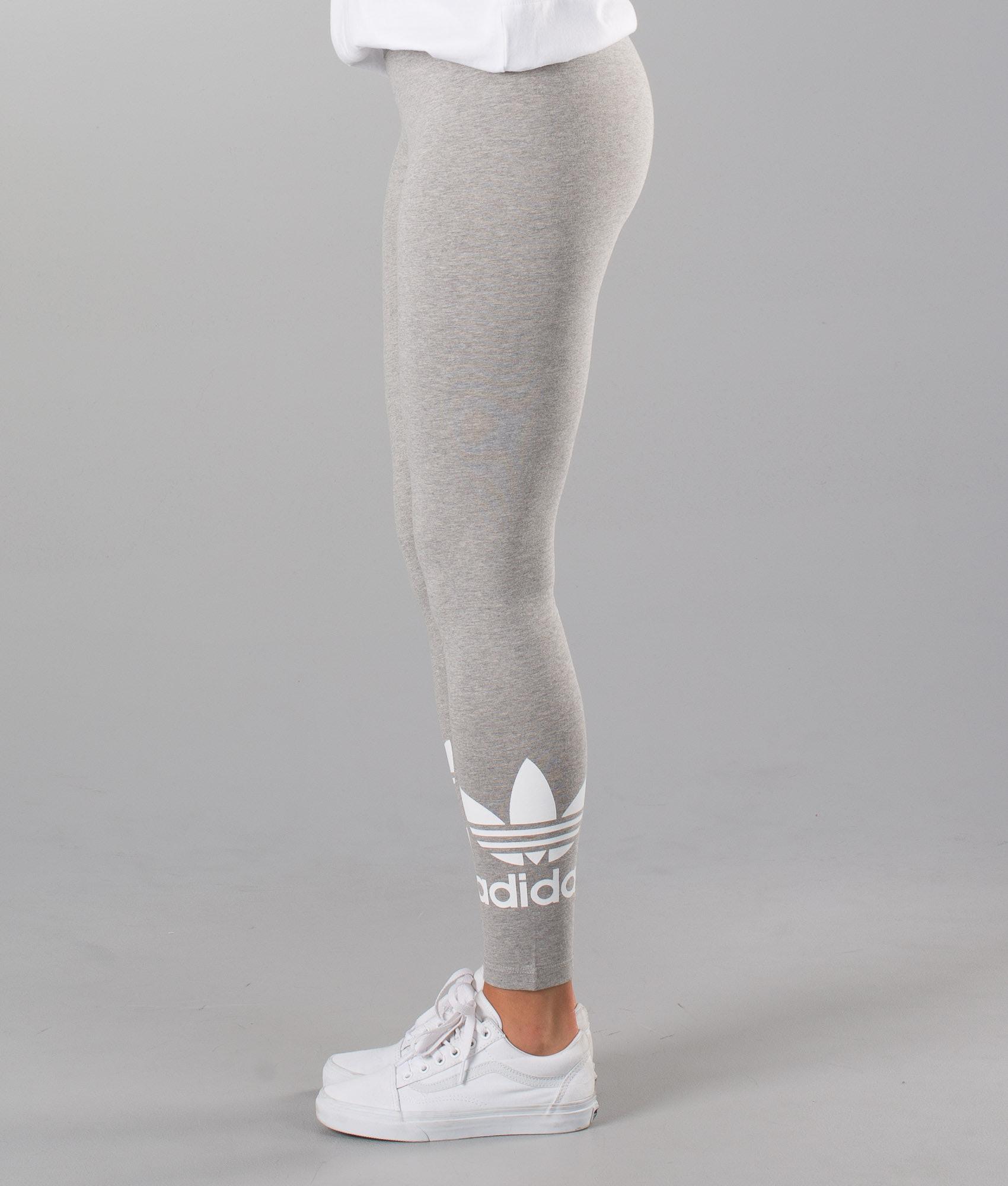 2bcb17a707e Adidas Originals Trefoil Leggings Mgreyh - Ridestore.com