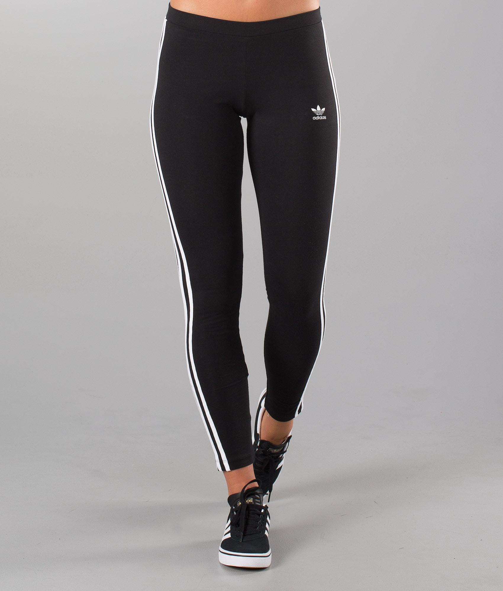 49b2d31c Adidas Originals 3Str Leggings Leggings Black - Ridestore.se