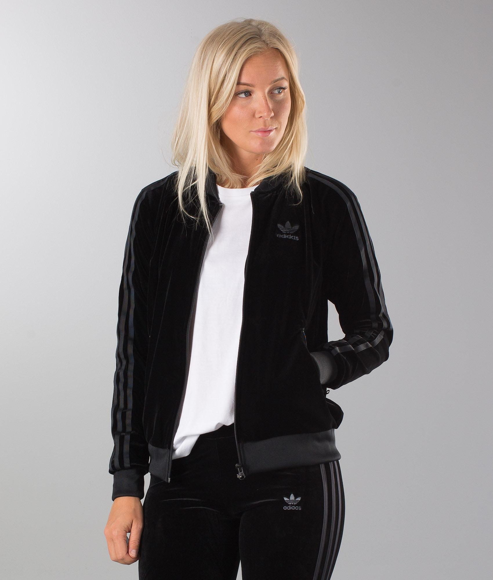 5abf427270a5 Adidas Originals Velvet Vibes SST Hood Black - Ridestore.com