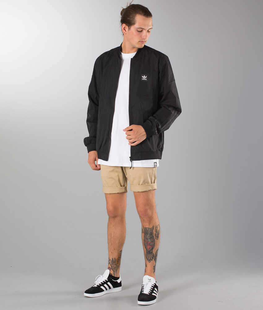 De Skateboarding Varsity Chez Lightw Black Veste Adidas qt6wpxd6