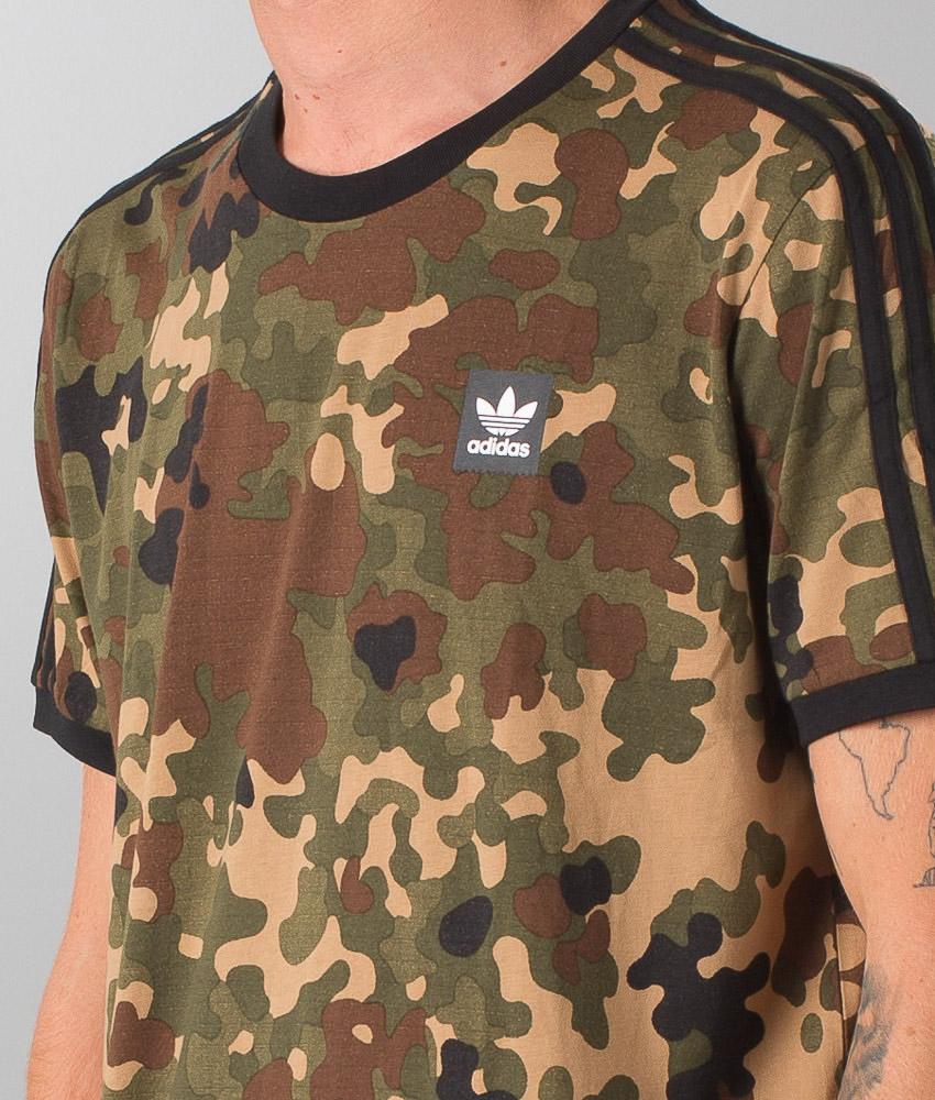 Camo T Campriblack Striped Shirt Adidas Skateboarding lcTK3F1J