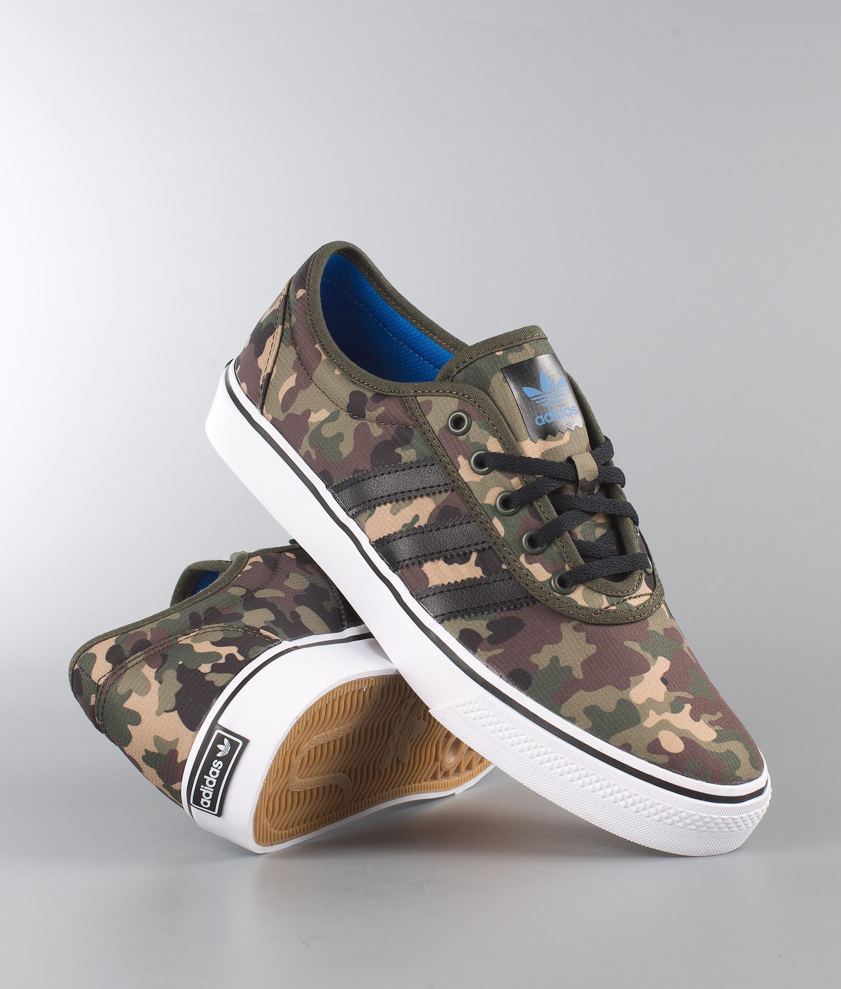 30edc79a05b7c Adidas Skateboarding Adi-Ease Shoes Ngtcar/Cblack/Ftwwht - Ridestore.com