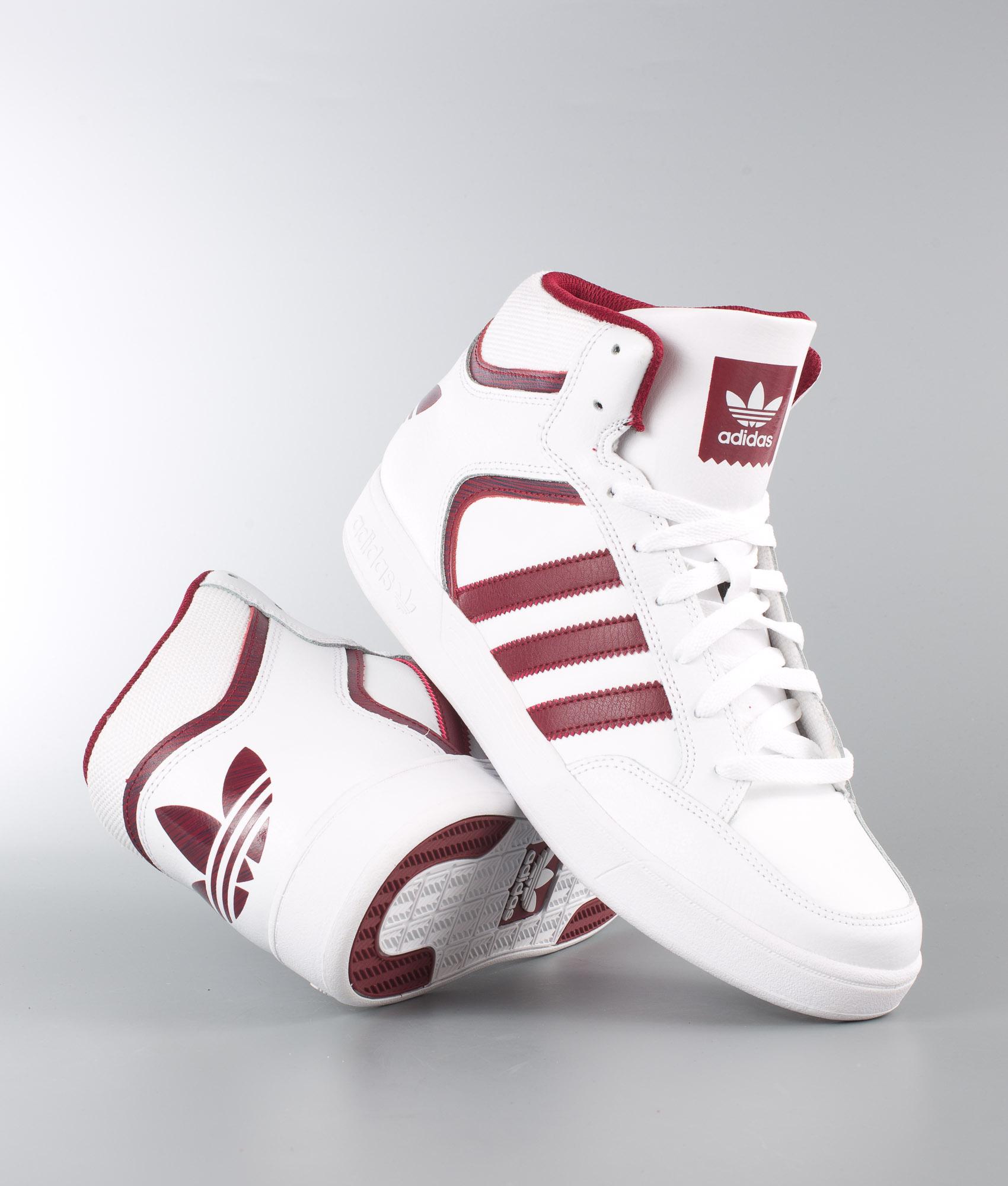 adidas con lo skateboard varial metà scarpe ftwwht / cburgu / ftwwht