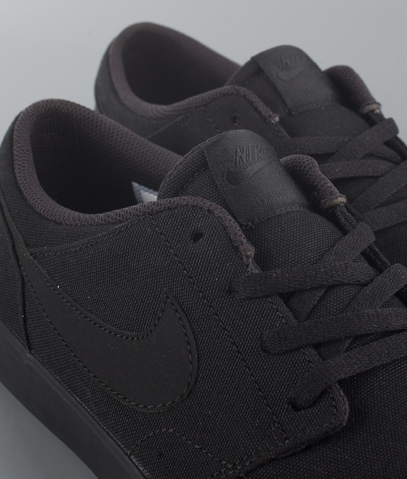 Nike SB Portmore II Solar Cnvs Kengät BlackBlack Ridestore.fi