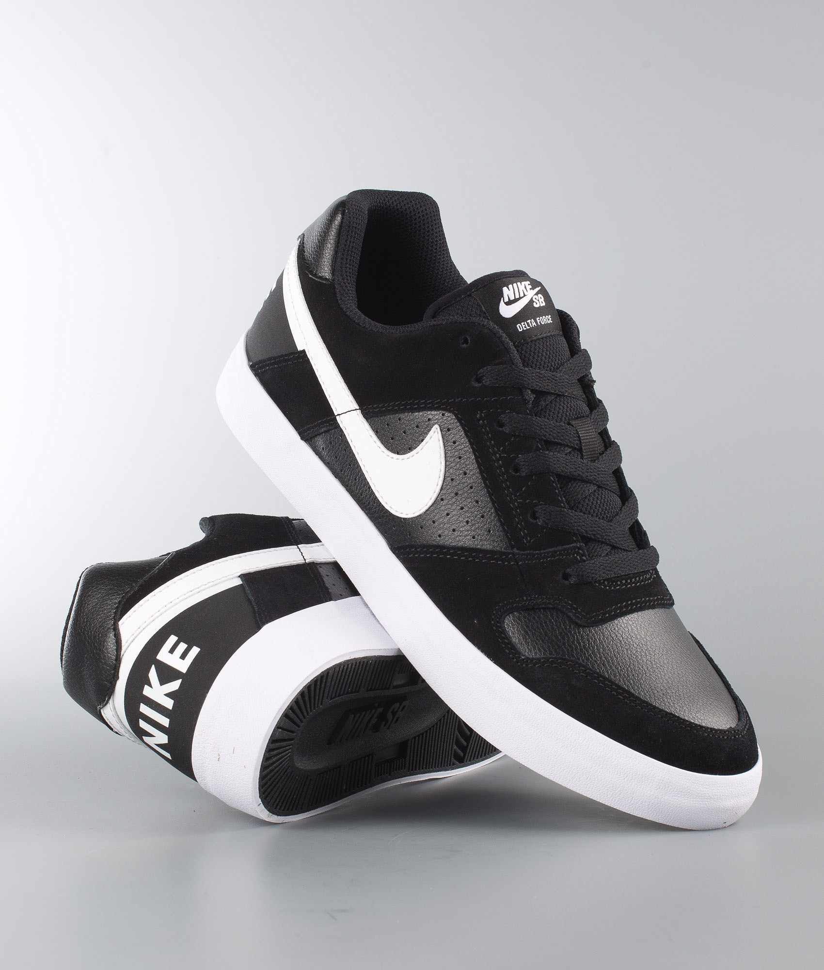 9de612d258a Nike Delta Force Vulc Shoes Black White-Anthracite-White - Ridestore.com