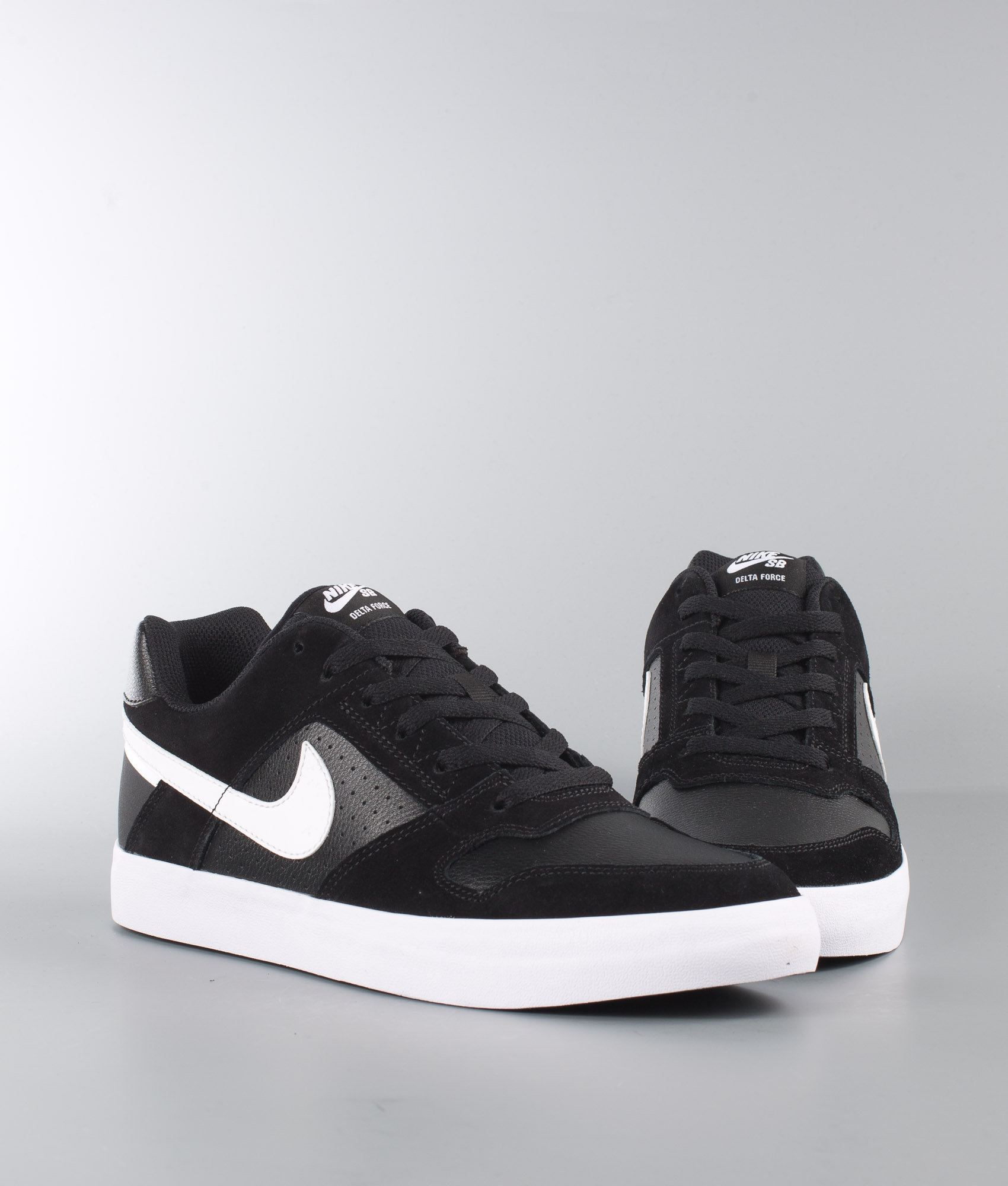 Nike Delta Force Vulc Schuhe Black/White-Anthracite-White - Ridestore.ch
