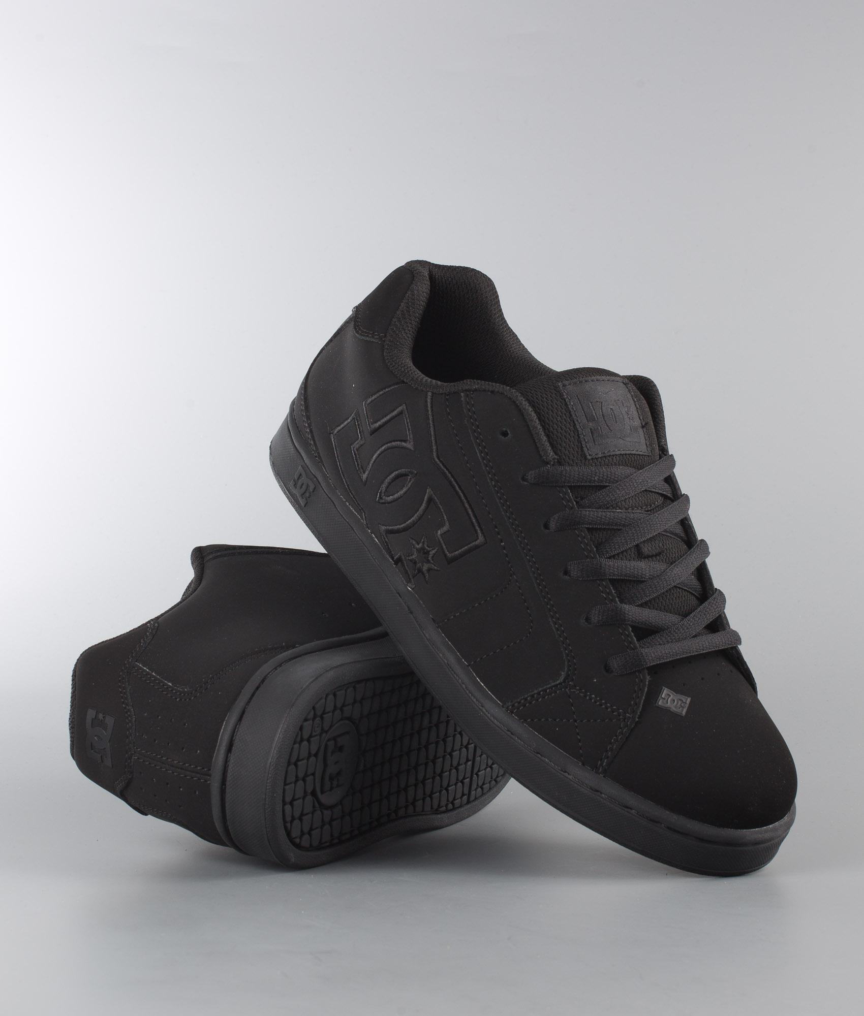 DC Net Shoes Black/Black/Black
