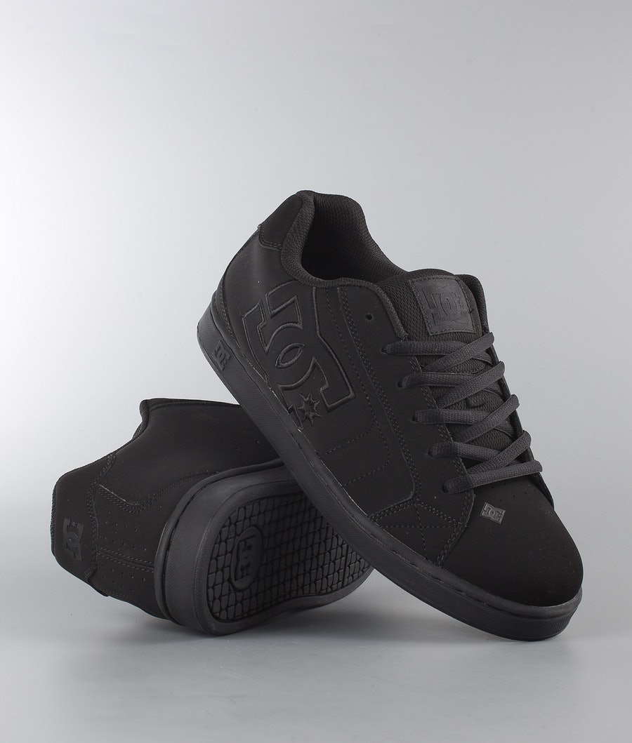 DC Net Shoes Black/Black/Black