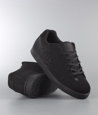 on sale be7e9 52b58 DC Net Scarpe Black/Black/Black