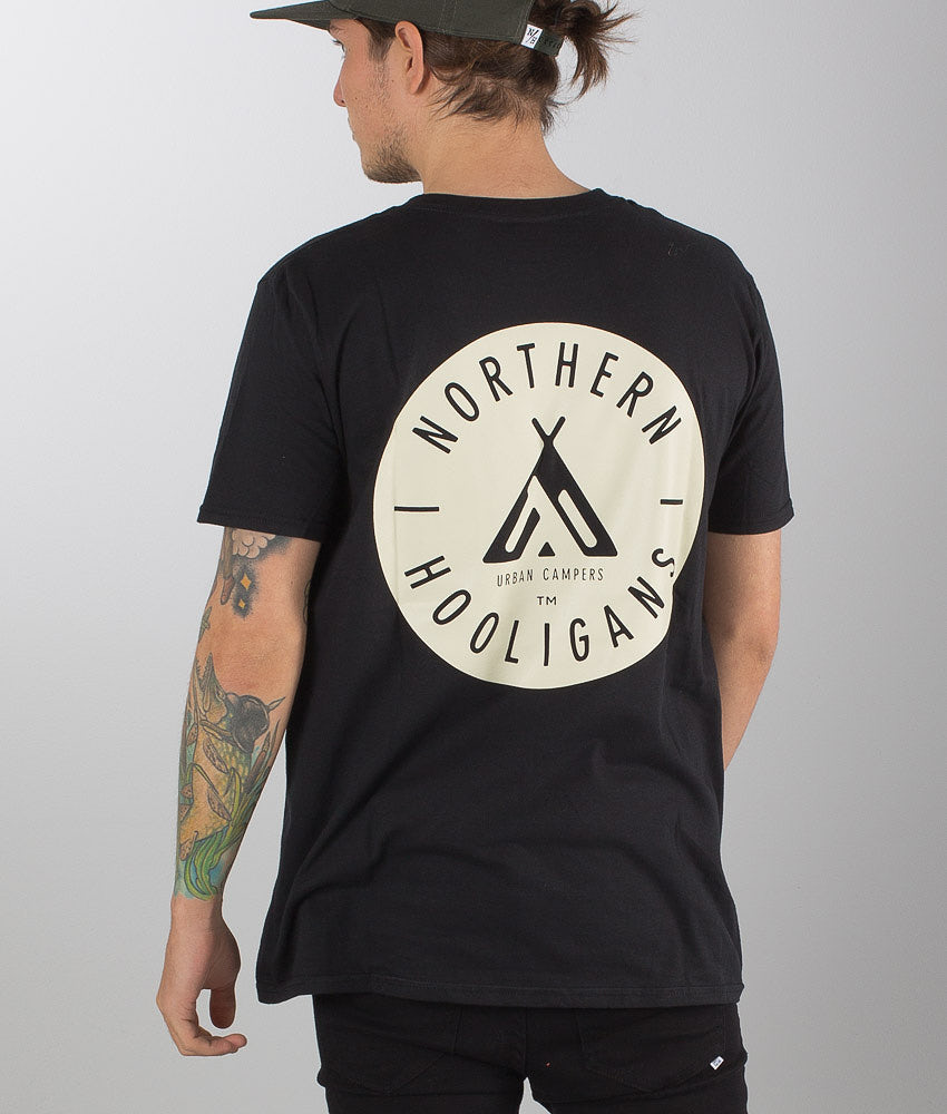 Northern Hooligans The Urban Campers T-shirt Black