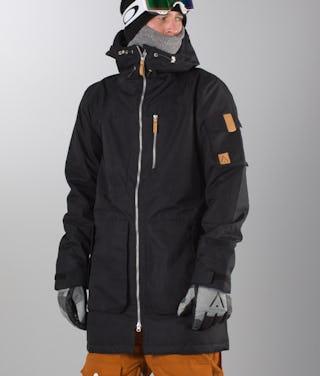new style 5d15f c2156 WearColour Ullr Parka Giacca da snowboard Black