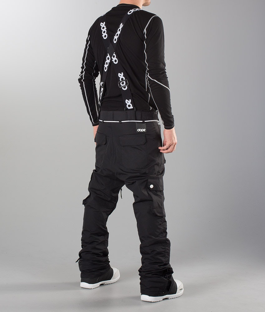 Dope Strapped Suspenders Black