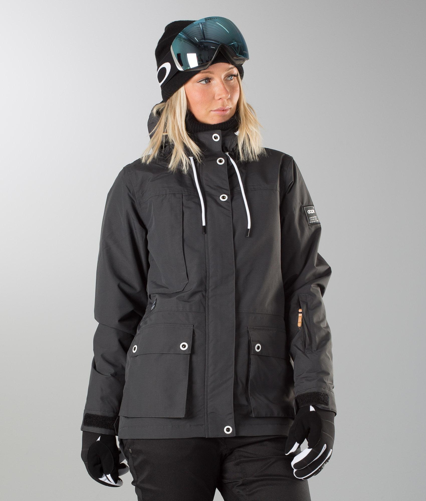 Dope Coco Snowboard Jacket Darkgrey Ridestore Com