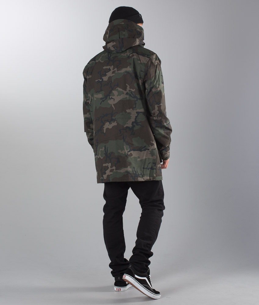 Ridestore Dope Move Wood it Camo Giacca Rj5q3A4L
