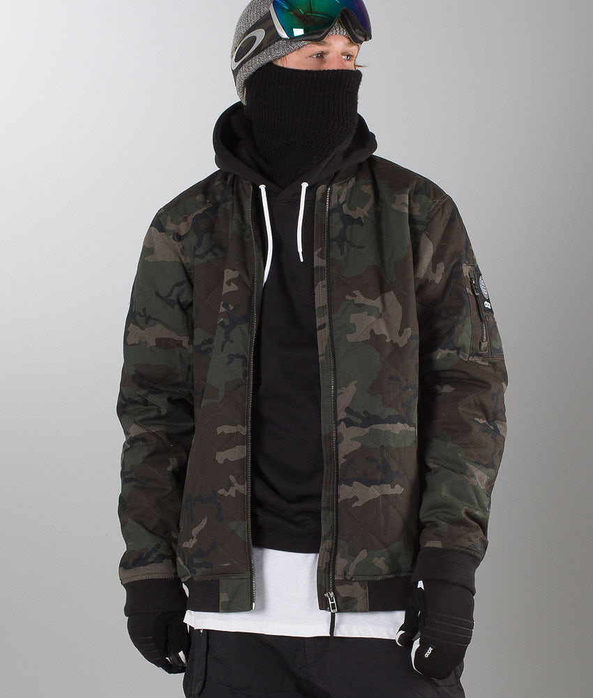 Dope Bomber  Jacket Wood-Camo