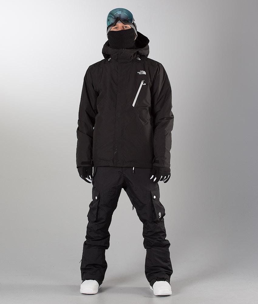 031d290692 The North Face Descendit Snowboard Jacket Black - Ridestore.com