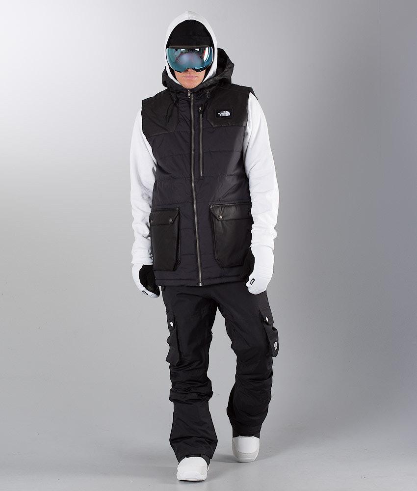 398c33cc62 The North Face Camshaft Vest Snowboard Jacket Tnf Black - Ridestore.com