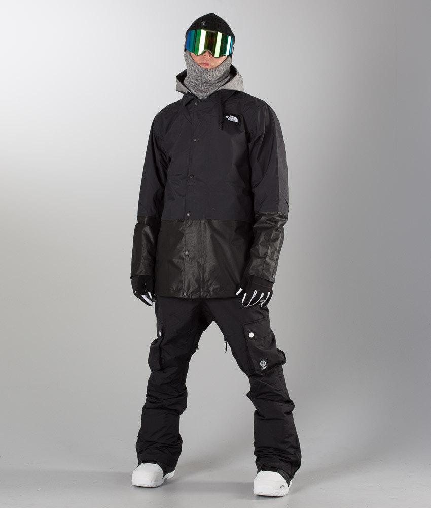c4c039f42 The North Face Rambler Snowboard Jacket Black/Zinc Grey
