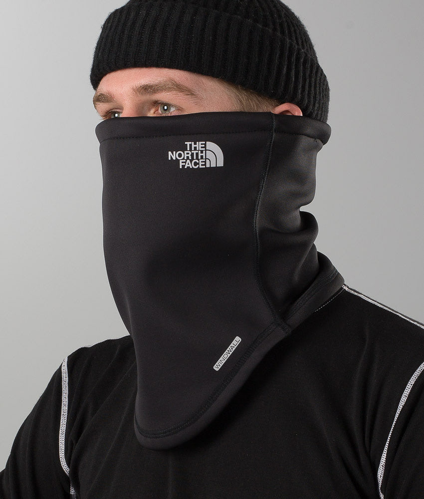 The North Face Windwall Neck Gator Facemask Tnf Black