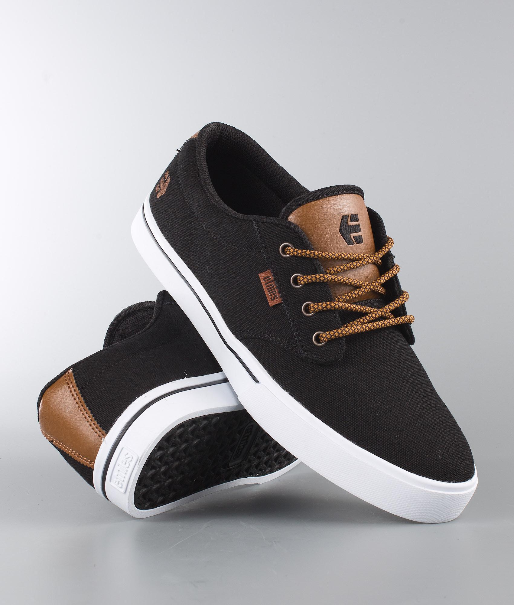 2709a7c0478a53 Etnies | Jameson 2 Eco de chez Chaussures Black Raw | Ridestore.fr