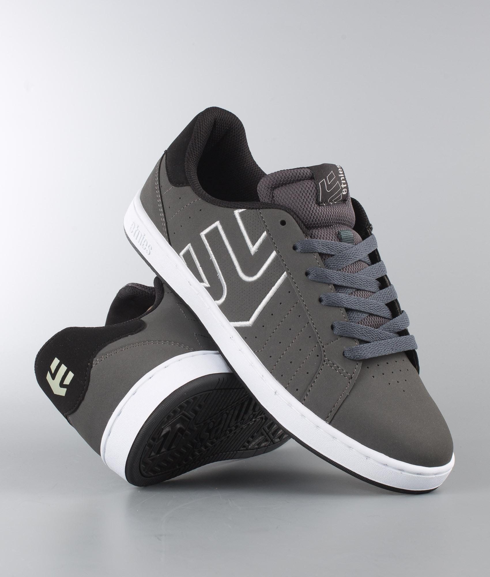 2913ff56582418 Etnies Fader LS Shoes Dark Grey/Black/White - Ridestore.com