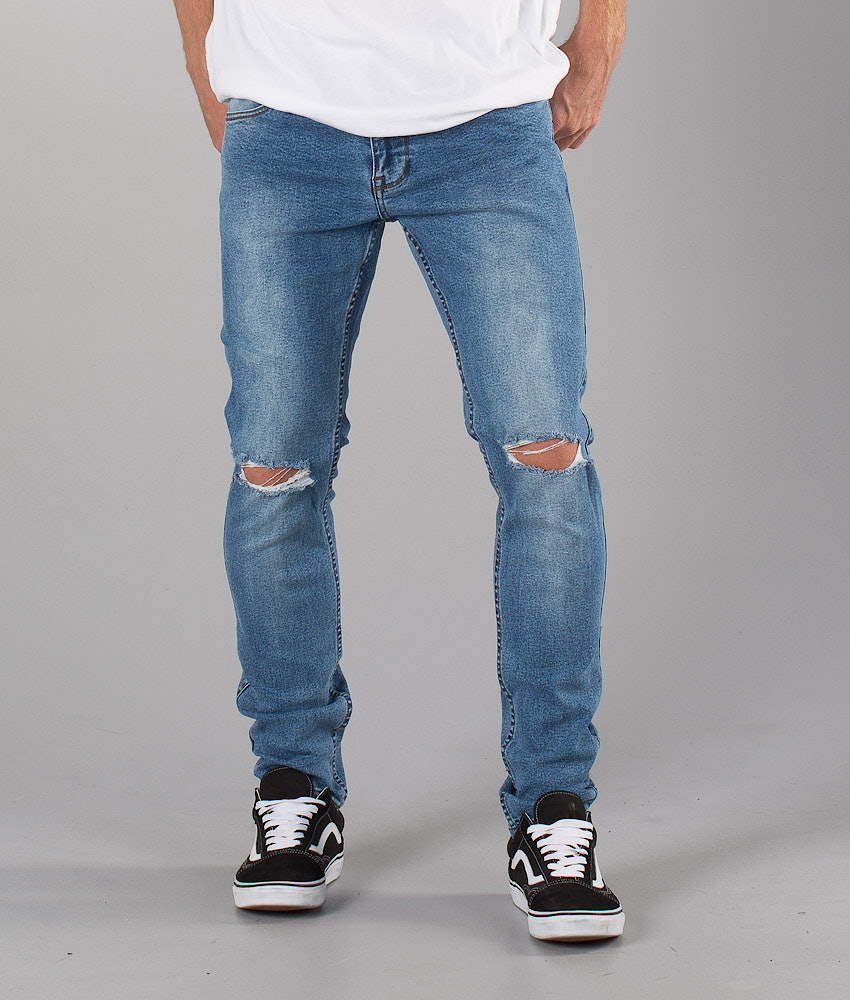 Dr Denim Clark  Pants Light Stone Destroyed