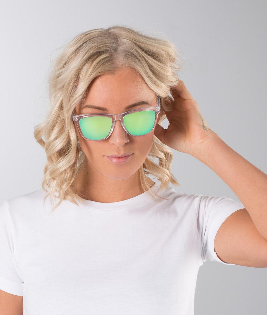 Dope Daywalker II Solglasögon Clear Mirror Green
