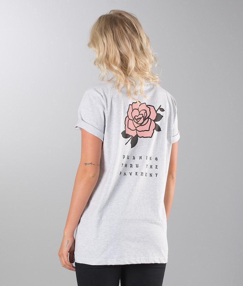 Dope ROSE Unisex T-shirt Greymelange