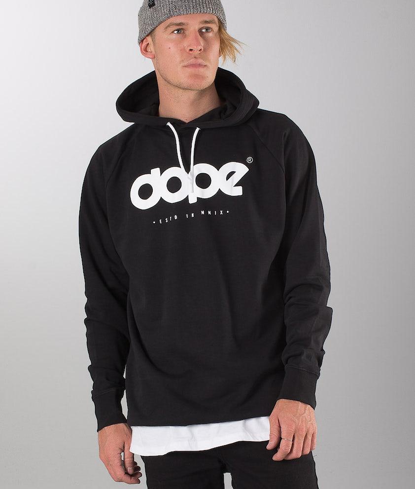 Dope OG Logo Hood Black