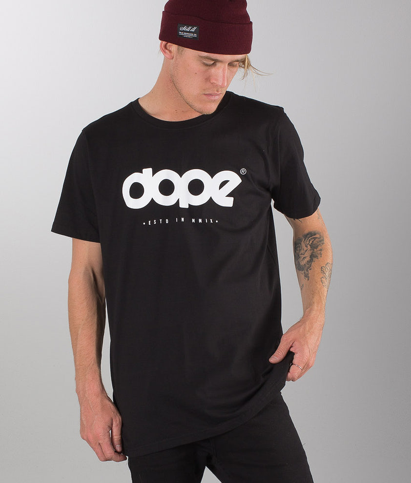 Dope OG Logo T-shirt Black