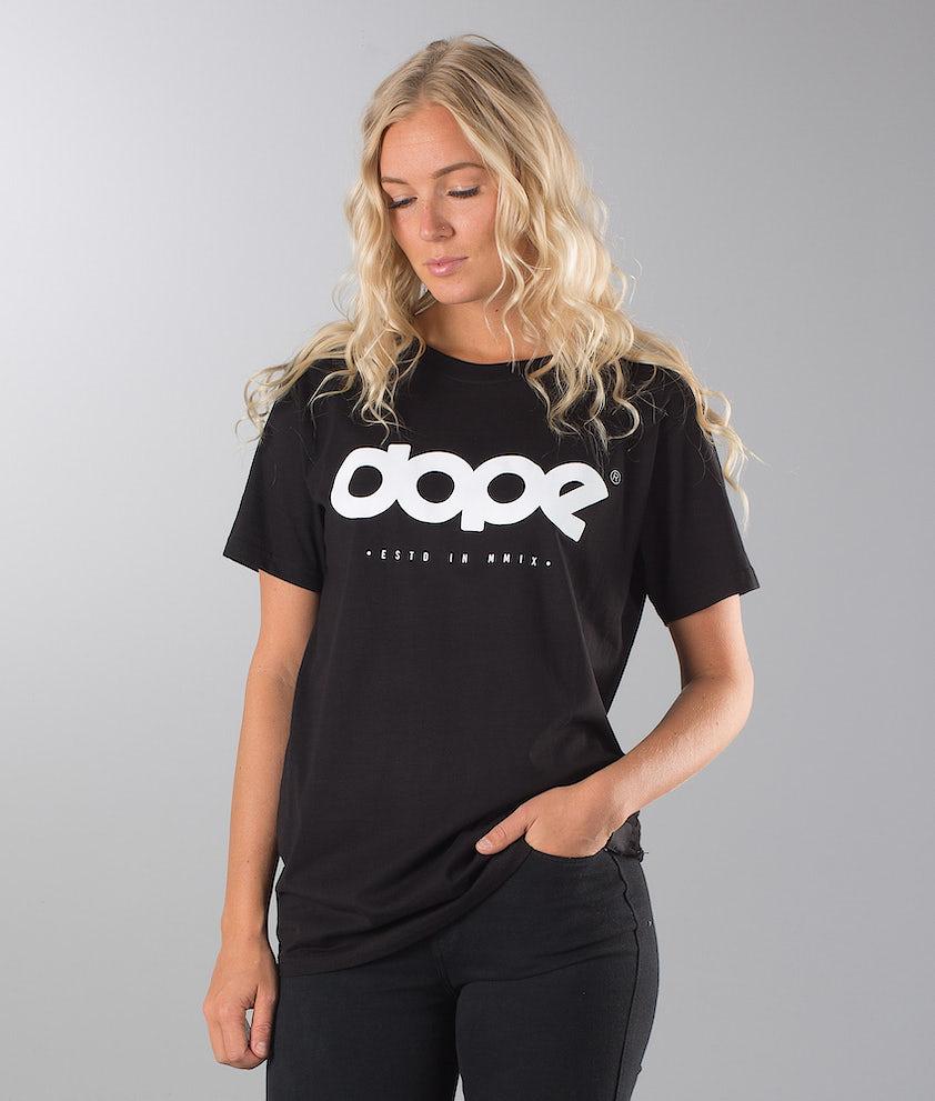 Dope OG Logo Unisex T-shirt Black