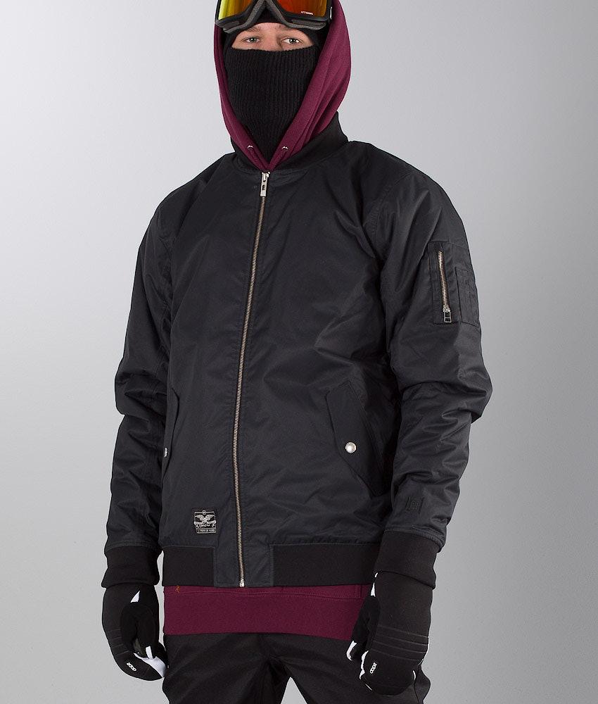 L1 Rockefeller  Snowboard Jacket Black