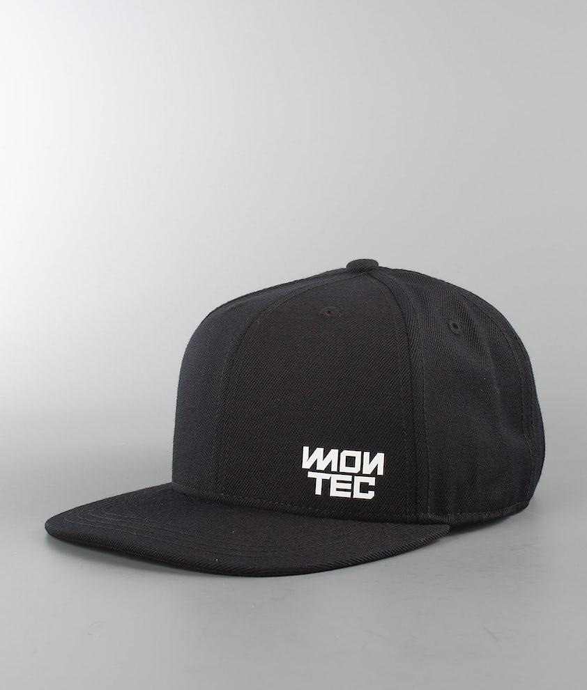 Montec Logo Caps Black