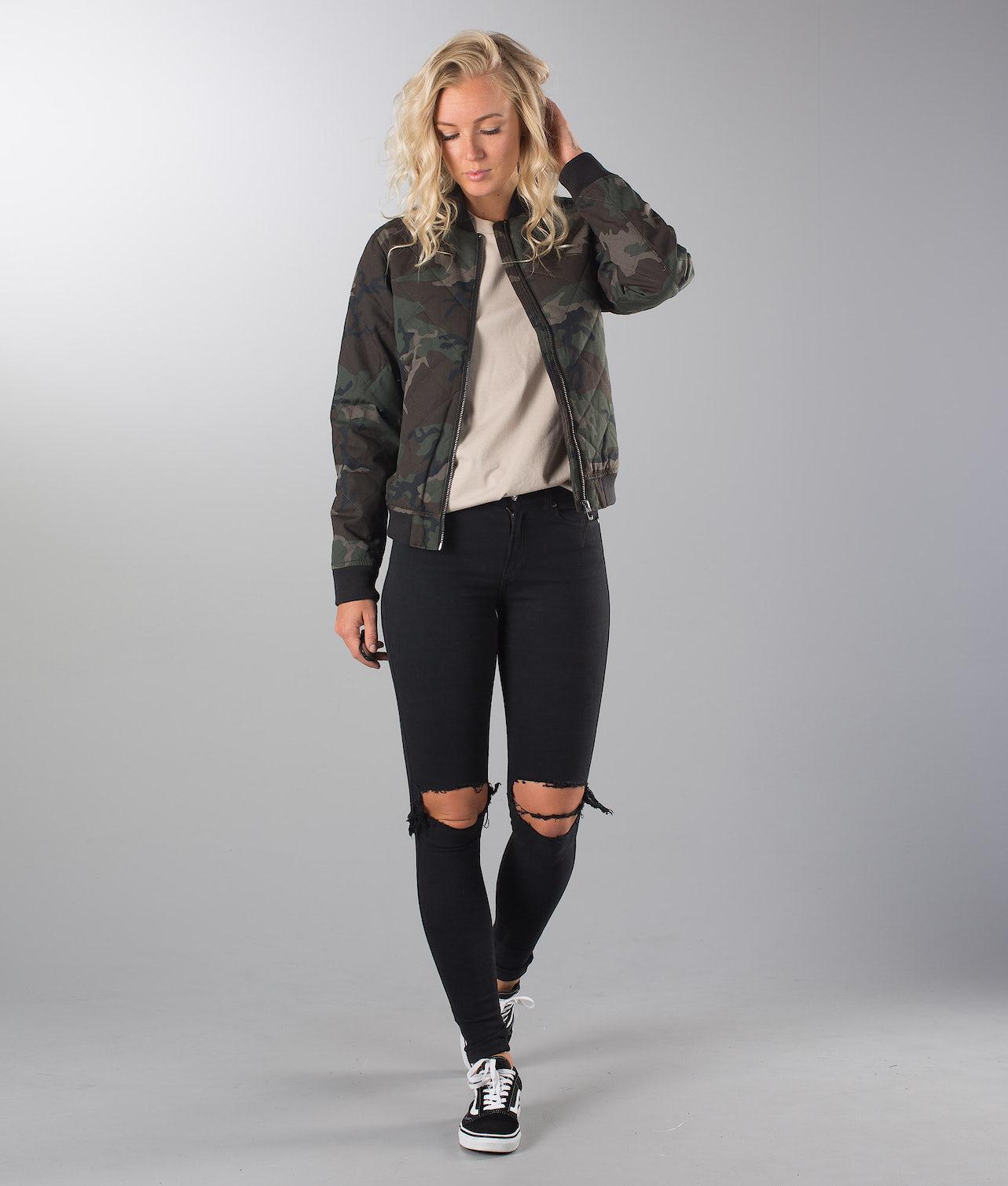 Kjøp Girls Bomber Jakke fra Dope på Ridestore.no - Hos oss har du alltid fri frakt, fri retur og 30 dagers åpent kjøp!