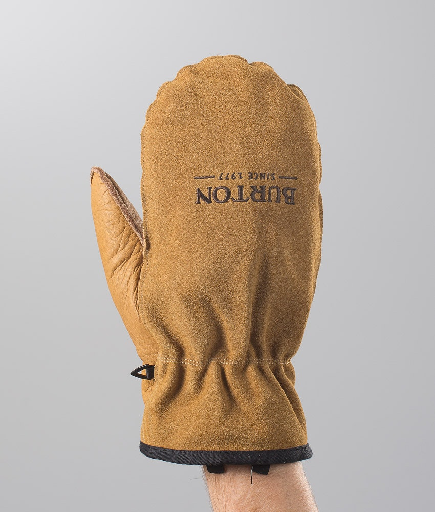 Burton Workhorse Mitt Vantar Snow Raw Hide