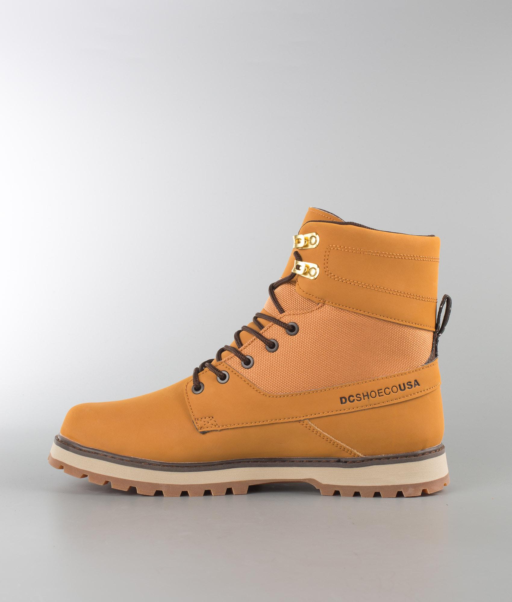 DC Uncas Shoes Wheat Black Dk Chocolate - Ridestore.com 386b927481b