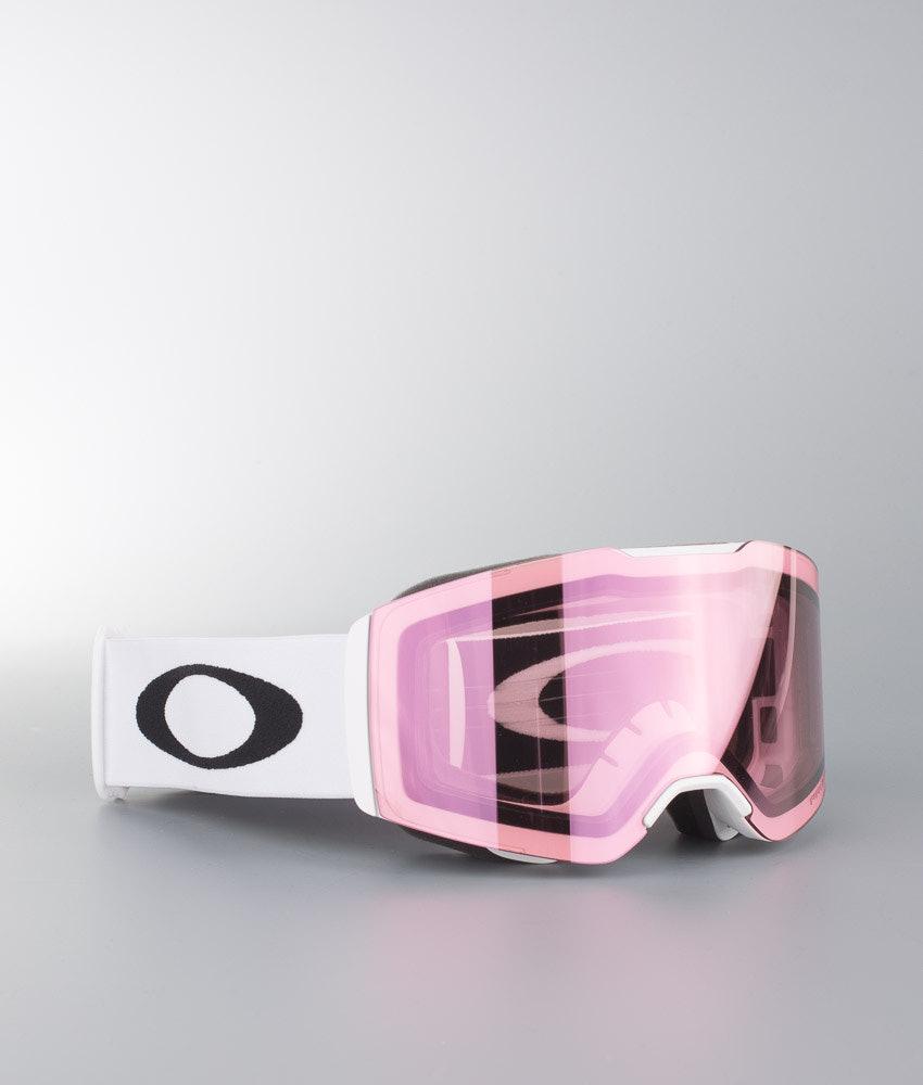 25ed0e37201d Oakley Fall Line Ski Goggle Matte White W Prizm Hi Pink - Ridestore.com